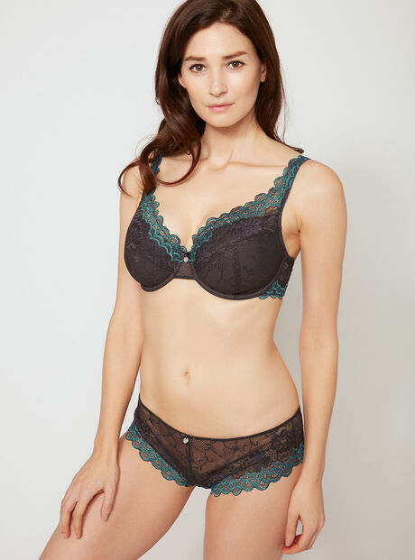 Scallop lace briefs