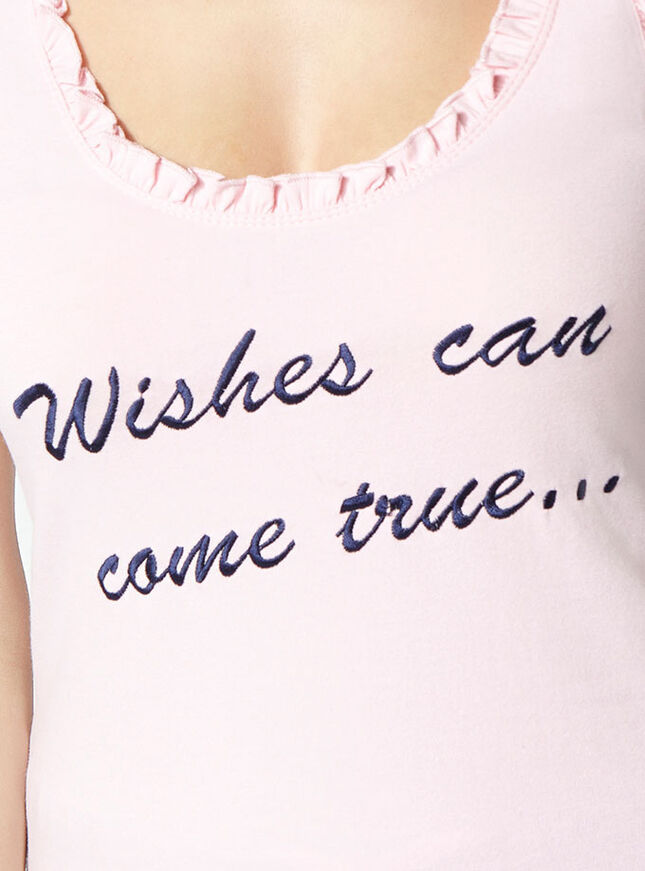 """Wishes can come true"" pyjama set"