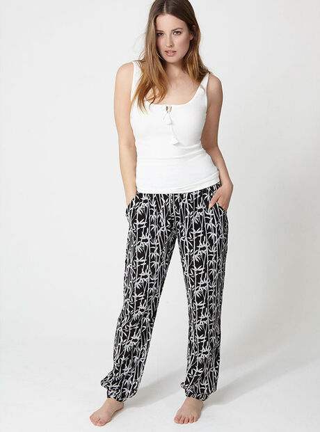Bamboo vest and pants set
