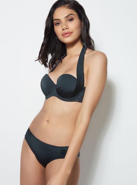 Lisbon ruched bikini briefs