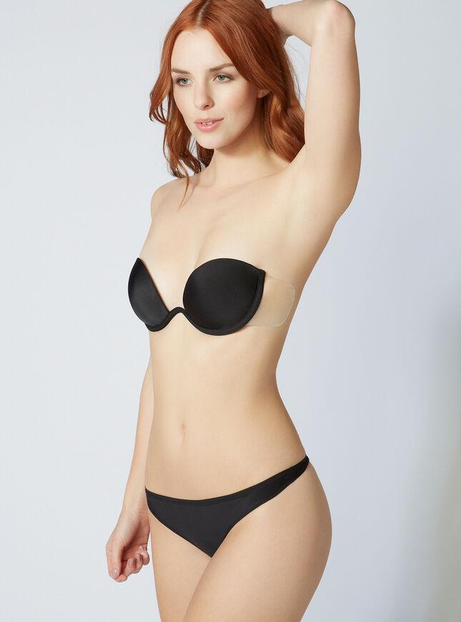 Strapless backless bra