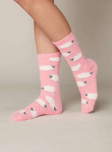 Sheep Cosy Ankle Sock