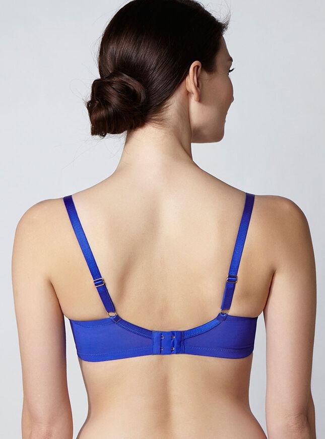 Avril spot full support plunge bra
