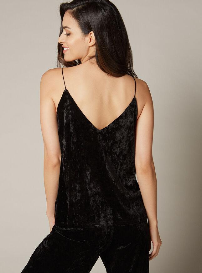 Velvet swing camisole