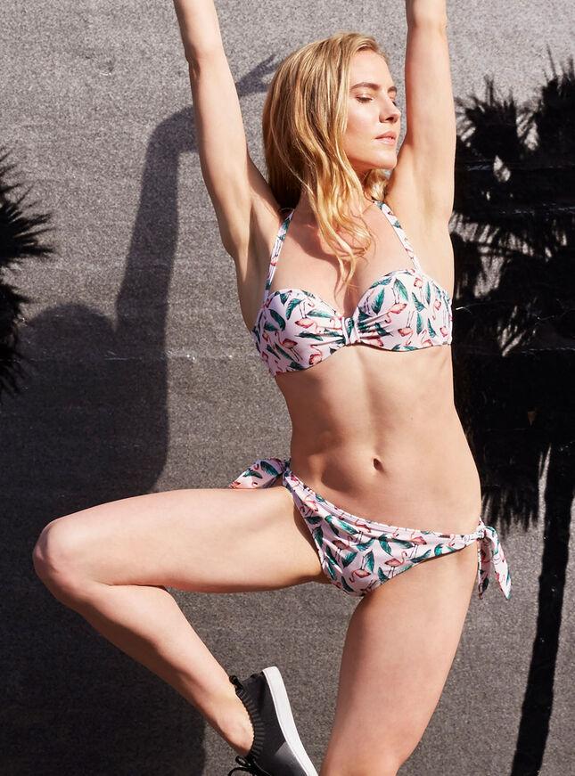 Flamingo bikini top