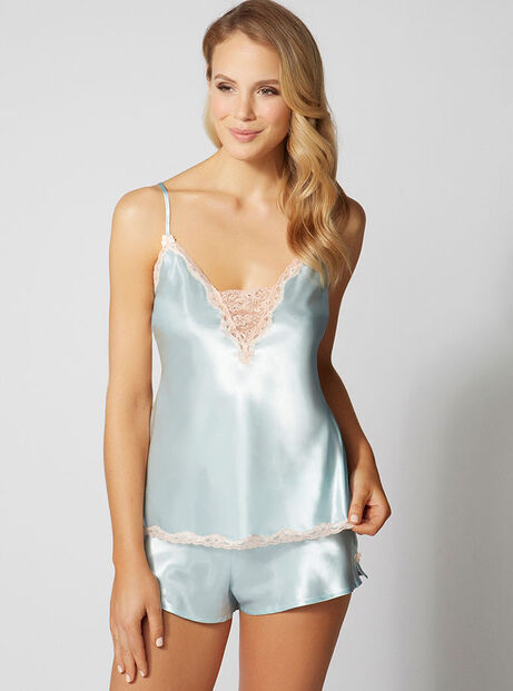 Valerie satin camisole and shorts set