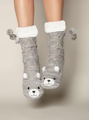 Eddie teddy socks