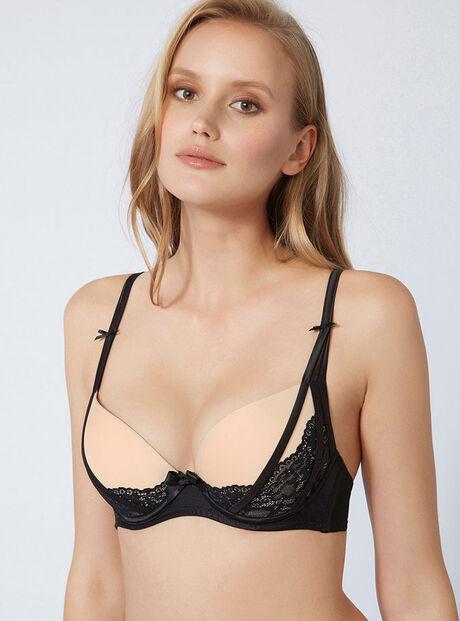 Rhiannon padded plunge bra
