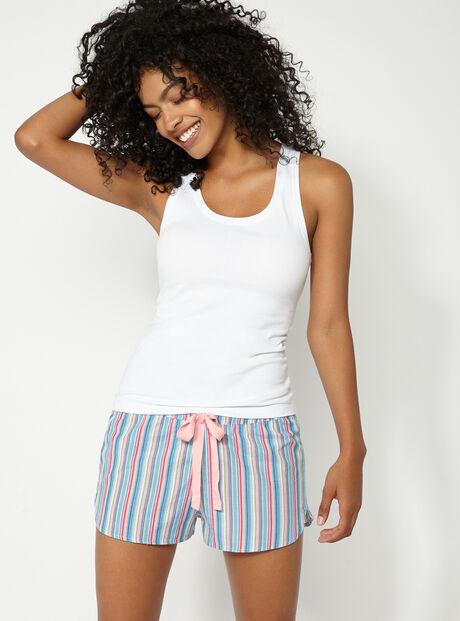 Stripe short pyjama set