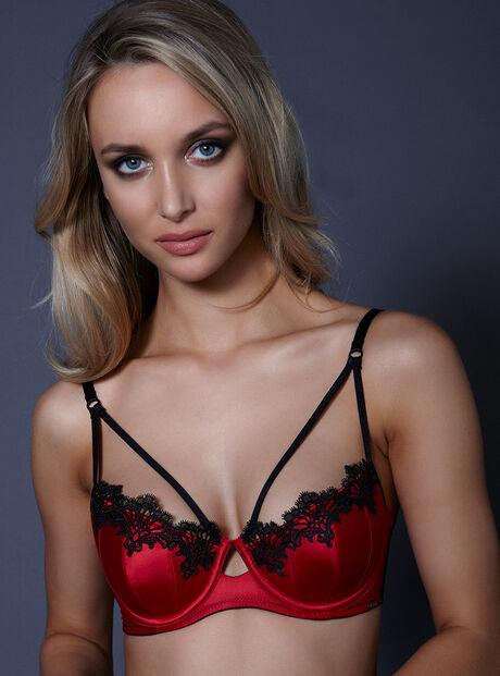 Kayleigh strappy balconette bra