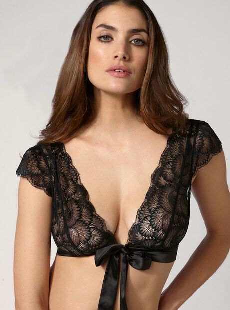 Dominique lace bolero