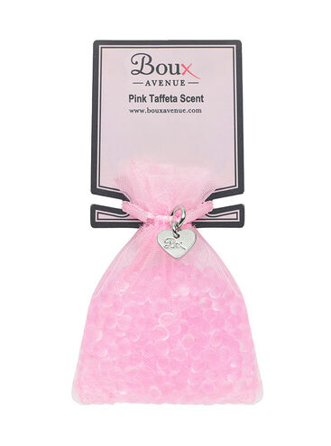 Pink taffeta scented sachet