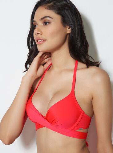 Santiago boost bikini top