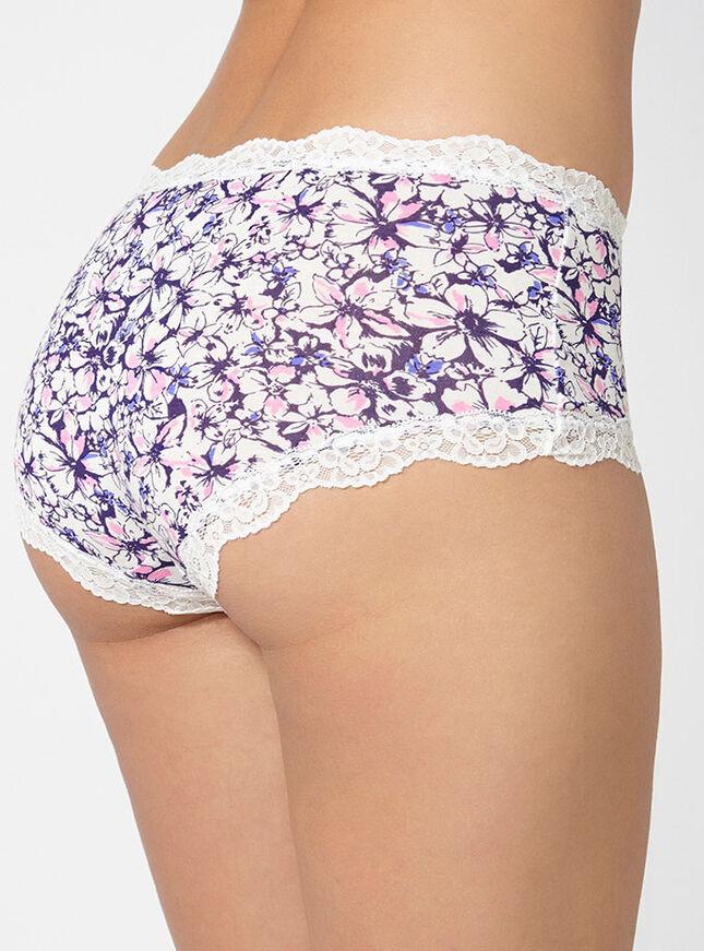 Tatiana pansy print shorts