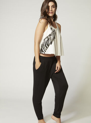 Nickie zebra swing vest and pants set