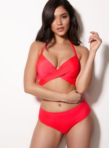 Santiago midi bikini briefs