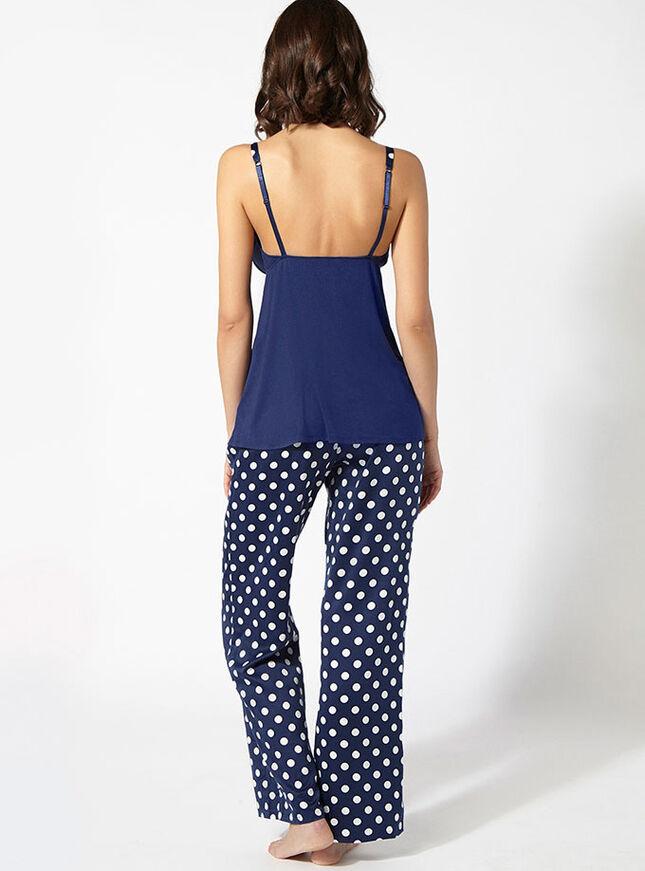Karina camisole and spot pants set
