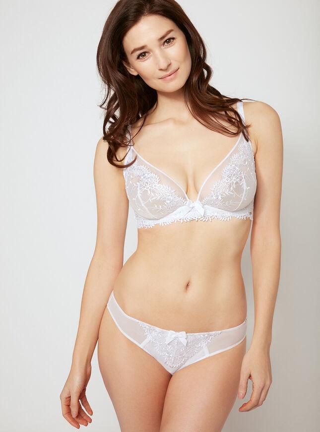 Bridgette non-padded plunge bra