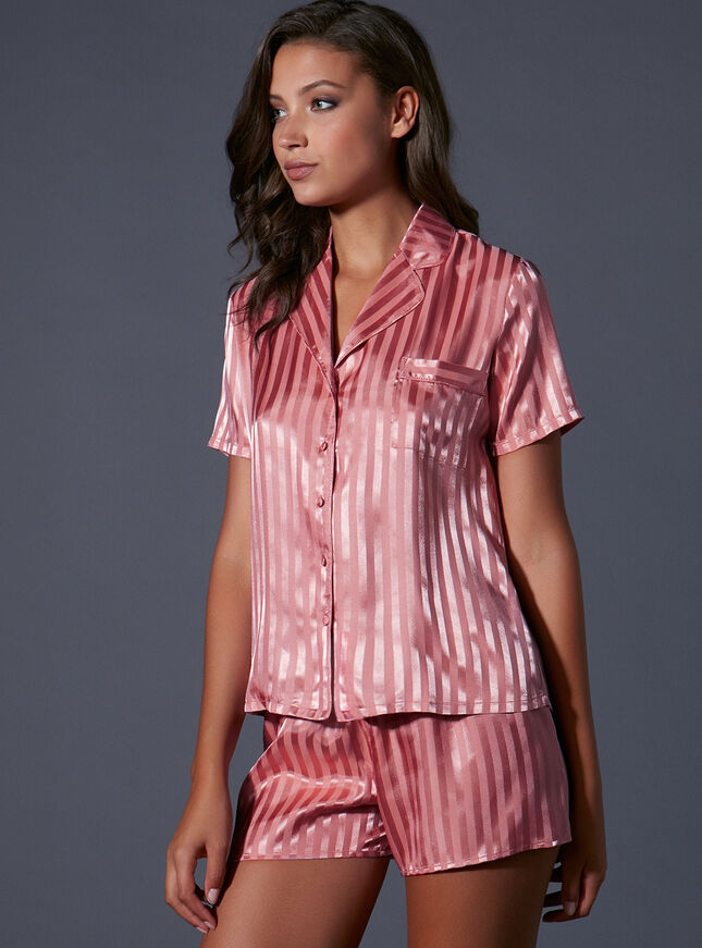Vivian short satin pyjamas