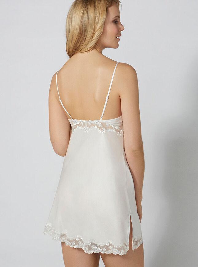 Lana silk mix chemise