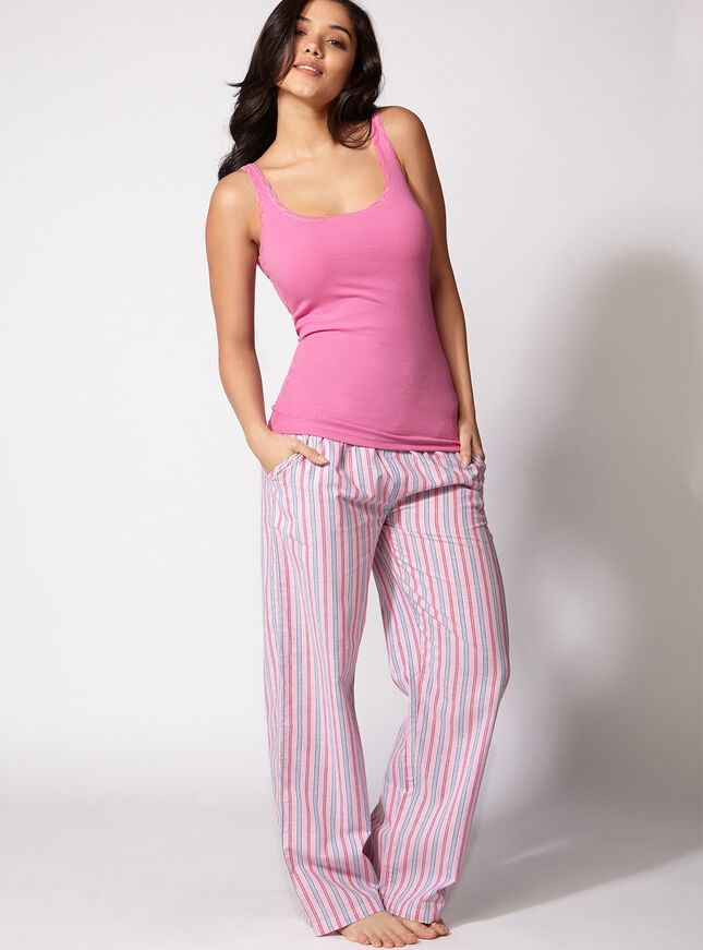 Kristy stripe pants
