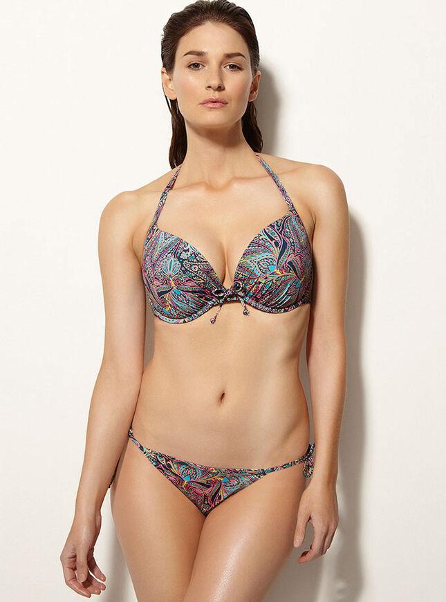 Acapulco paisley bikini top