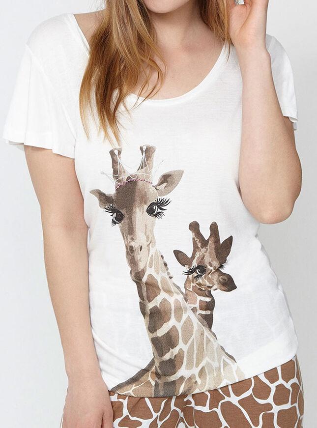 Tiara giraffe pyjama set