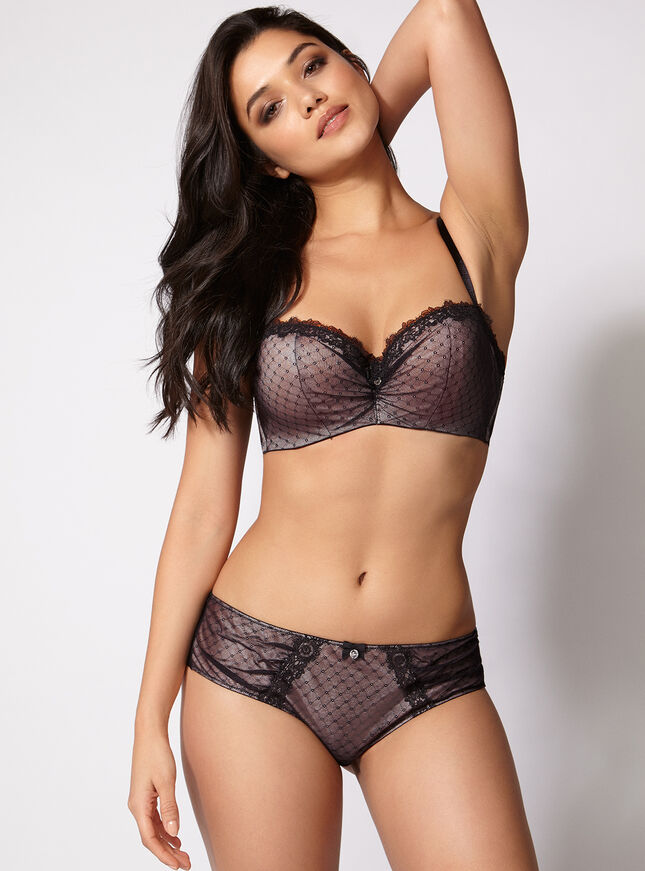 Tamara diamond mesh briefs