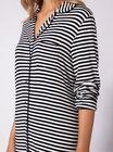 Jersey stripey nightshirt