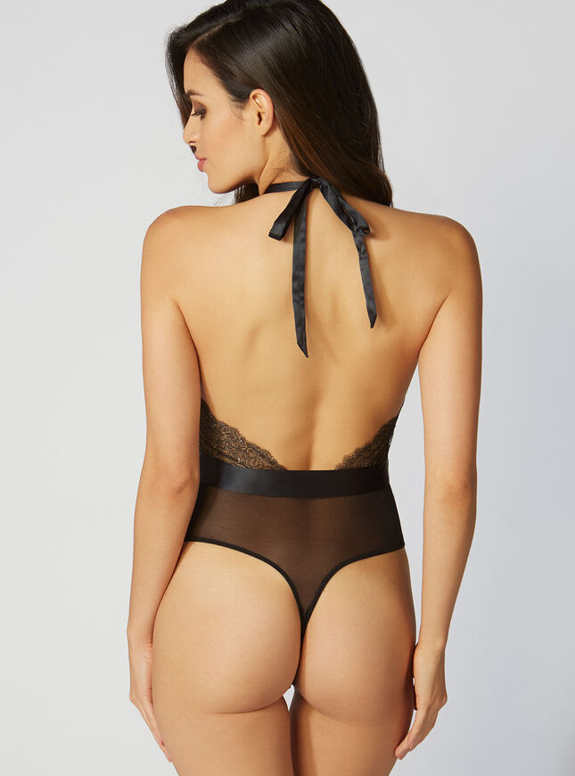Phoenix lace thong body