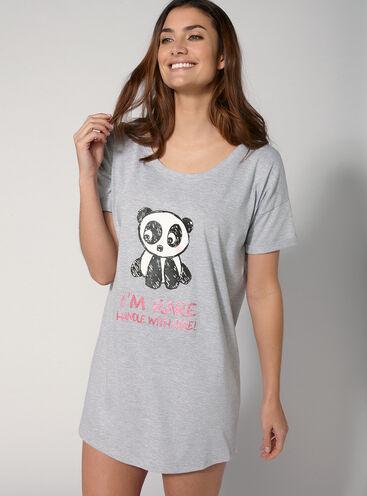 Panda sleep tee