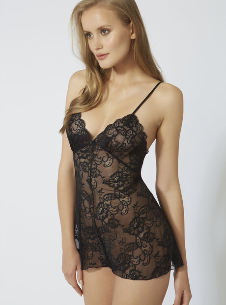 Lace teddy