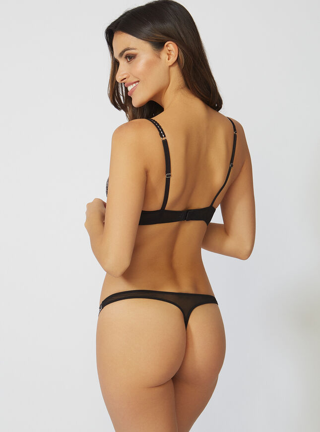 Naomi ribbon thong