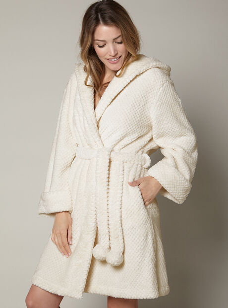 Winnie waffle robe