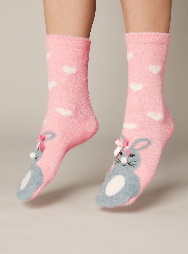 Bestie bunny socks