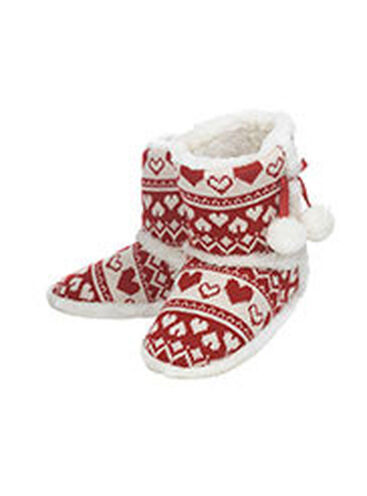 Fairisle booties