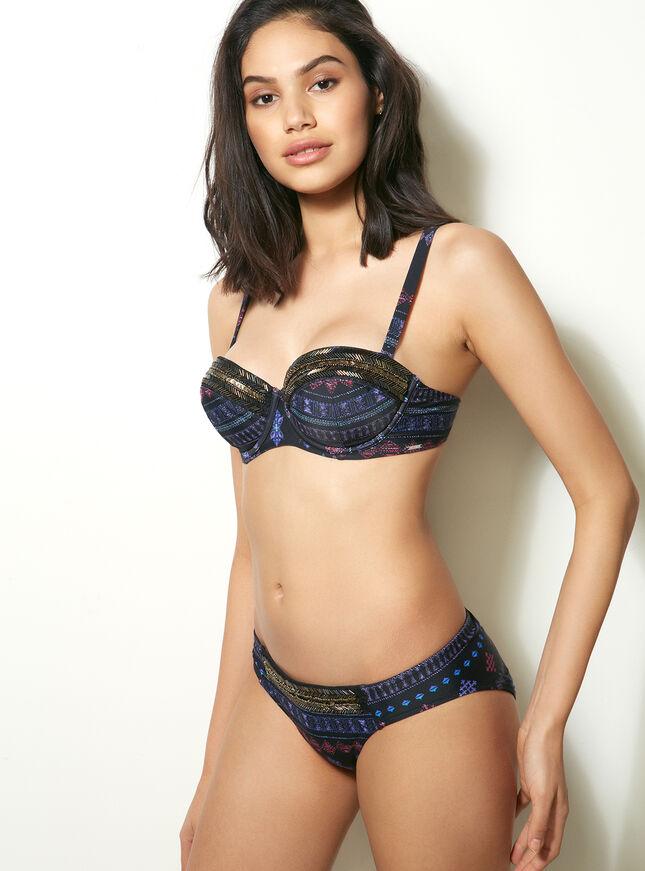 El Salvador aztec bikini top