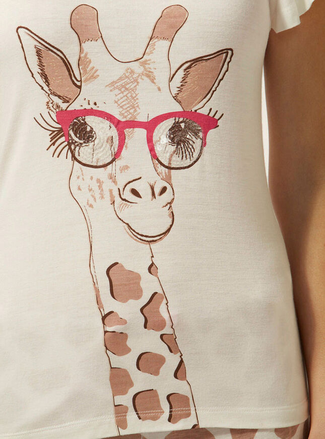 Sunglasses giraffe pyjamas