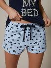 """Love my bed"" floral pyjama set"