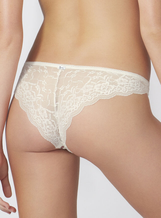Candy lace back briefs