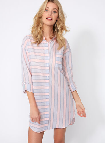 Prairie stripe nightshirt