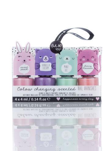 Oh K! scented mini nail varnish set
