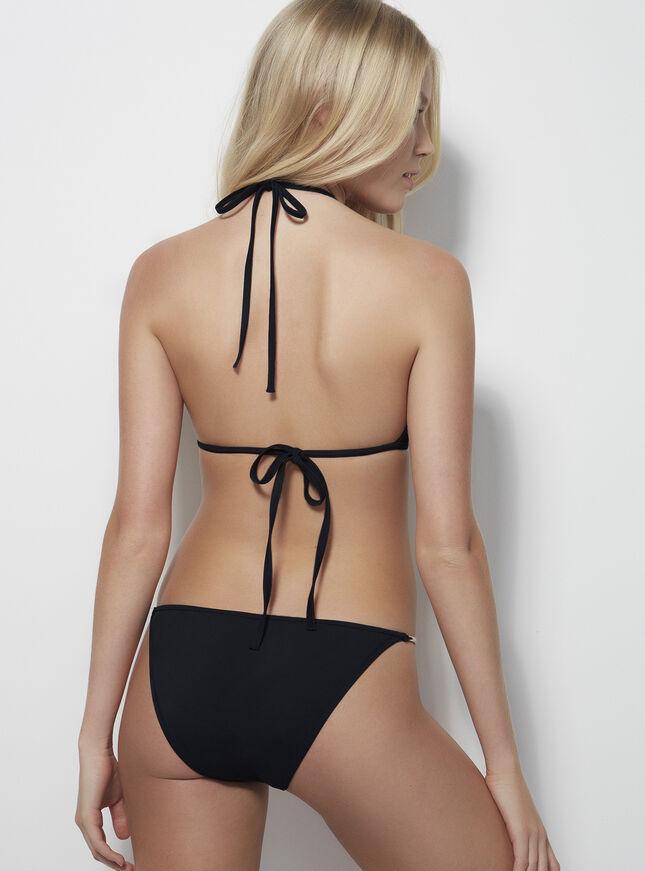 Silver trim bikini briefs