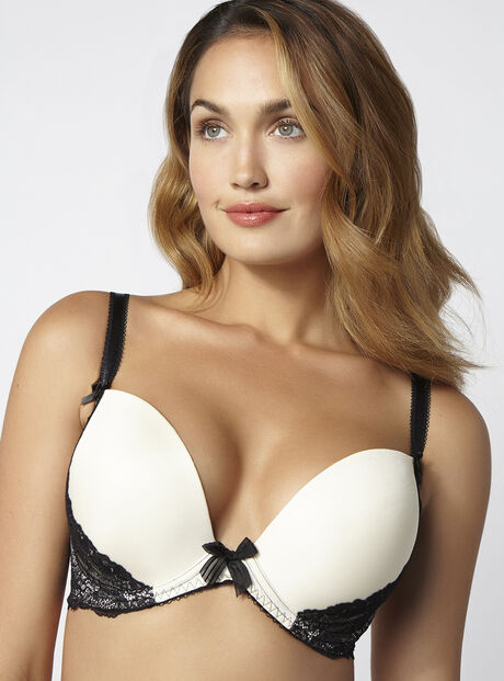 Carina full support plunge bra
