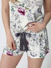 Botanical floral shorts