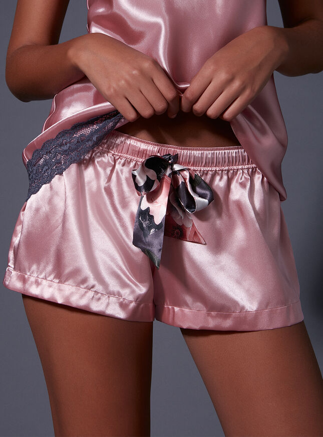 Spring floral shorts