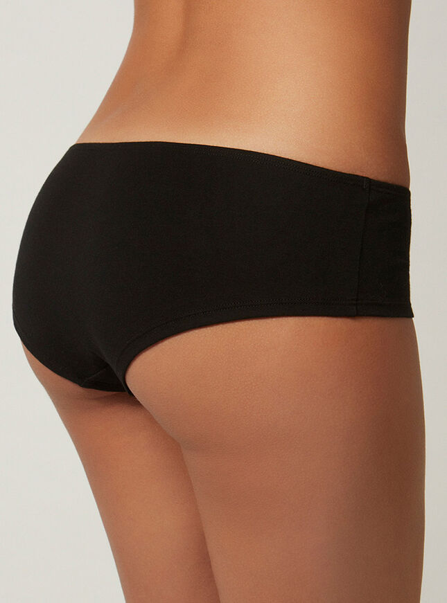 Ruched front shorts