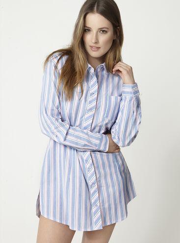 Multi stripe nightshirt