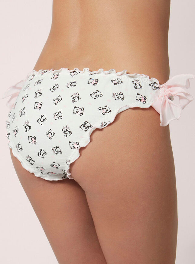 Panda scrunch briefs