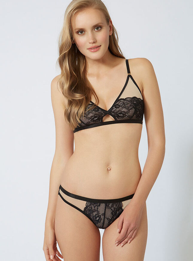 Toyah non-padded triangle bra